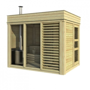 sauna da esterno - la sauna più adatta per la casa