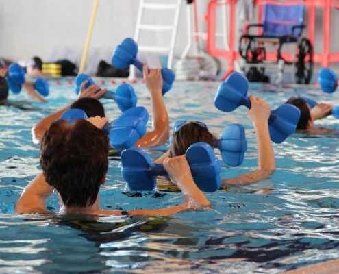 i benefici dell'acquagym